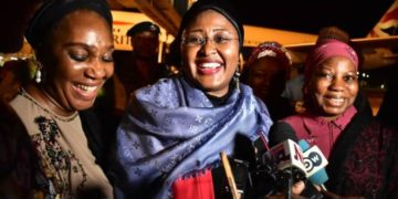 'I am the one in that video' - Aisha Buhari reacts to viral video of her being locked up