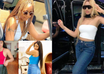 Princess on the right arm, Heart shape, Butterfly – Check out all Regina Daniels' 7 tattoos and what they mean (PICS)