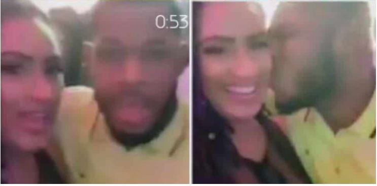 Frodd spotted kissing Juliet Ibrahim at an event
