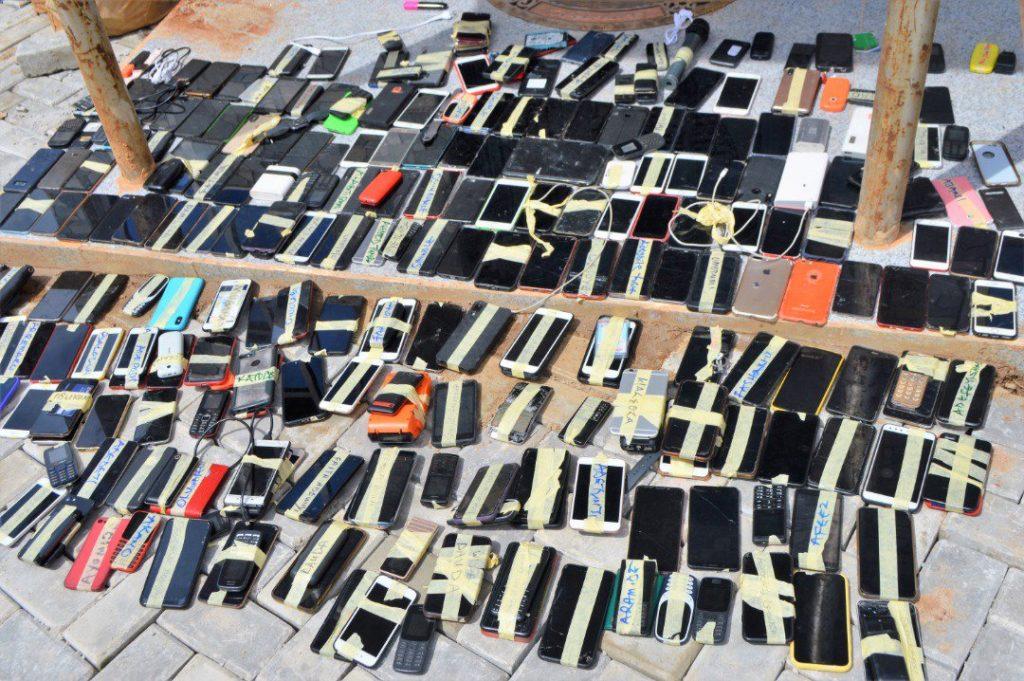 EFCC invades 'Yahoo-boys' party, arrests 94 suspected internet fraudsters (Photos)
