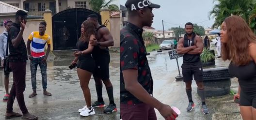 Ex-BBNaija housemate, Kemen, called out for promoting 'sexual harassment' in new video