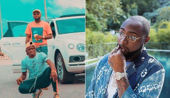 SARS reportedly harass Davido's PA, Aloma - His 30BG chain stolen