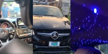 Check out the CRAZY interior of MC Galaxy's new car (video)