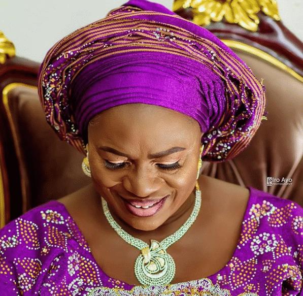 Veteran Nollywood actress, Iya Rainbow celebrates 77th birthday (Photos)