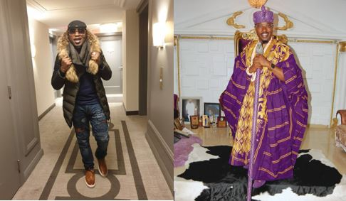 'I am a swagger king' - Oluwo of Iwo says as herocks denim and jacket (Photos)