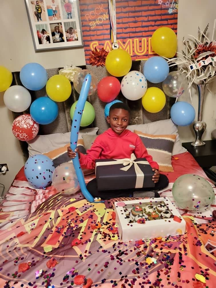 Odion Ighalo Celebrates His Son As He Turns 8