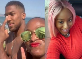 Anthony Joshua gifts DJ Cuppy customized Diamond Chain, sparks dating rumour (Photos)