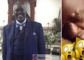 Popular American Pastor caught 'giving head' to church female church member (Video)