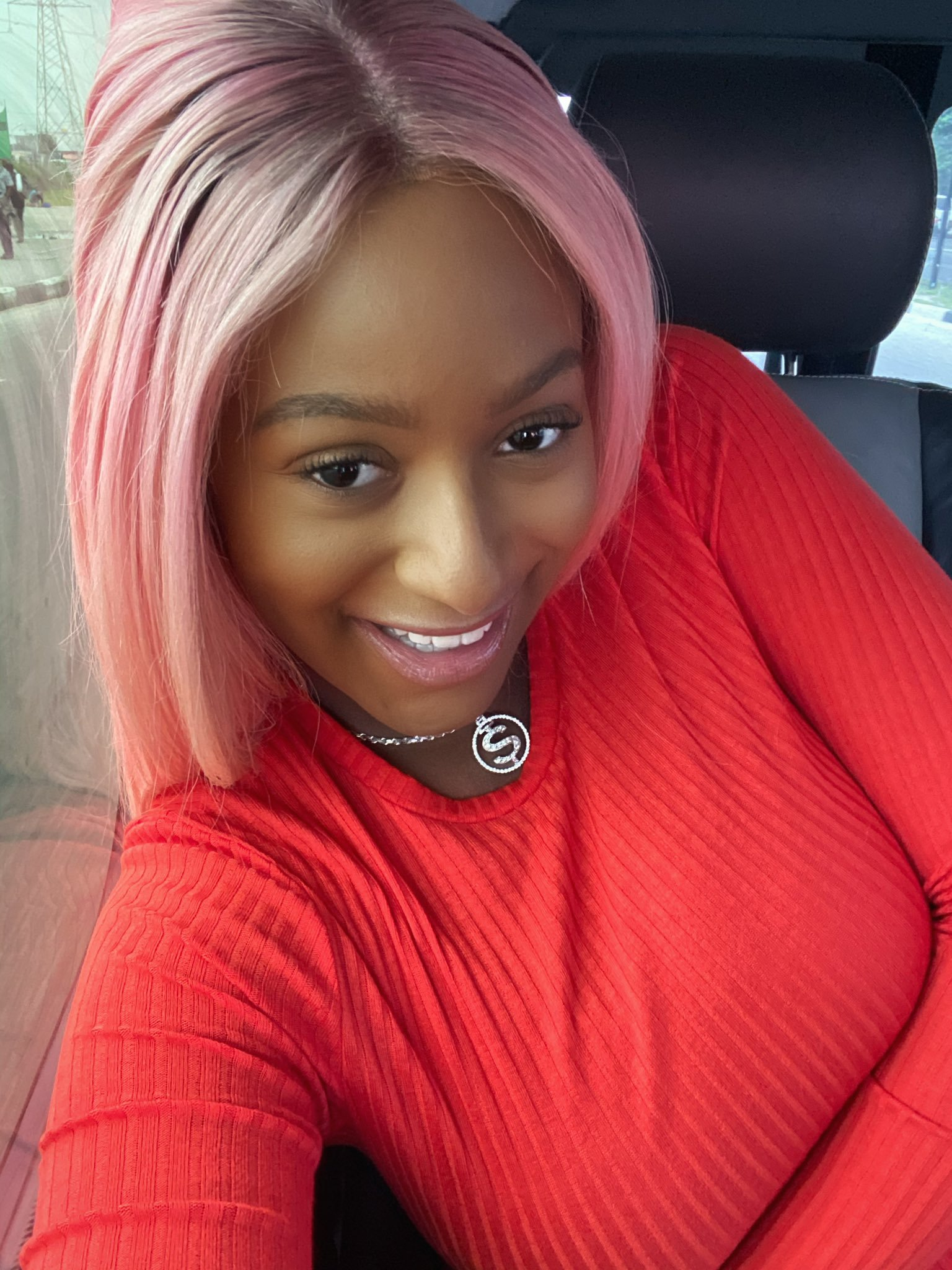 DJ Cuppy sparks dating rumors as she gushes over customized diamond necklace Anthony Joshua gifted her (Photos)