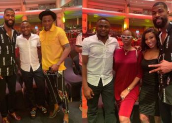 Mercy, Mike, Ubi Franklin and Ebuka hit the red carpet (Photos)