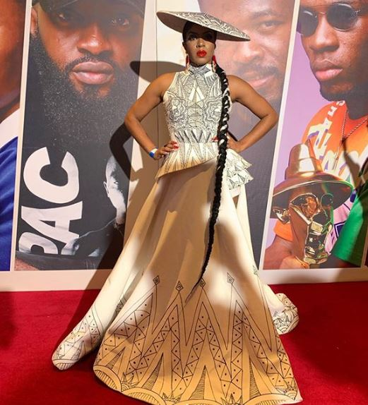 Headies 2019: Former BBNaija Housemates and their outfits on the red carpet (Photos)