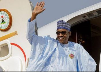 President Buhari departs Nigeria for a three-day Summit in Sochi , Russia