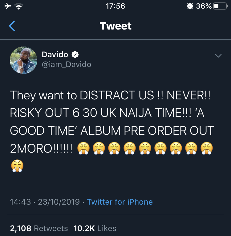 Davido paid the 2 sisters to fake pregnancy as a publicity stunt to promote his new song? (Pics)