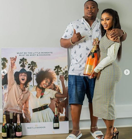 Mercy becomes brand ambassador for Moët & Chandon (Photos and Video)