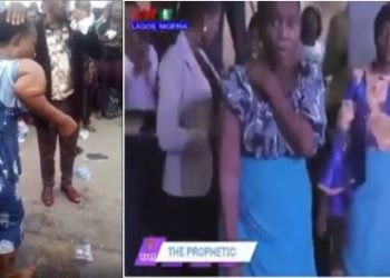 Two Nigerian Pastors dragged on Social Media for using same woman for miracle (videos)
