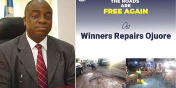 Bishop Oyedepo approves N650 million to repair roads (Photos)