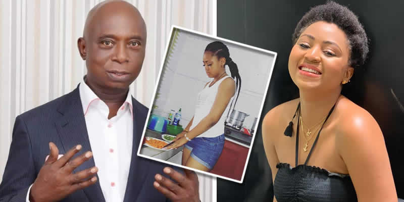 'Get pregnant fast before your husband marries another wife' - Man advises Regina Daniels