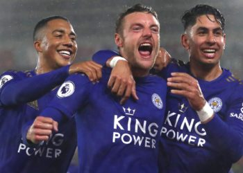 Leicester city humiliates Southampton record breaking 9-0 win
