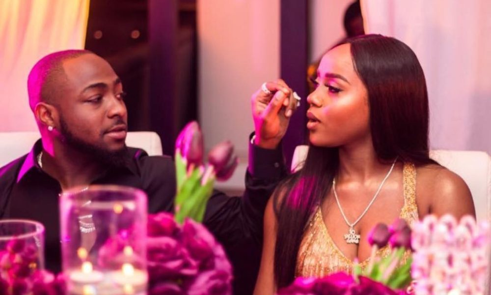 'Thank you for being patient with me' - Davido thanks Chioma