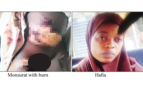 Woman burns 13-year-old housemaid's stomach and thigh with hot iron over N500 in Lagos
