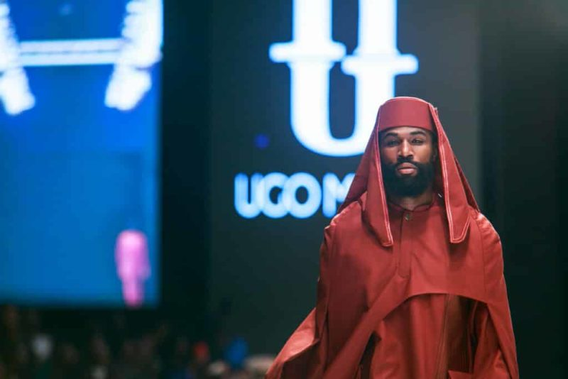 BBNaija's Mike Edwards hits the Runway at the Lagos Fashion Week