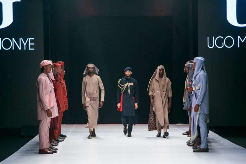 BBNaija's Mike Edwards hits the Runway at the Lagos Fashion Week