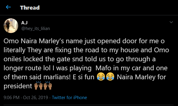 'See what 'Agberos' did to me after they heard me listening to Naira Marley's song' – Lady narrates
