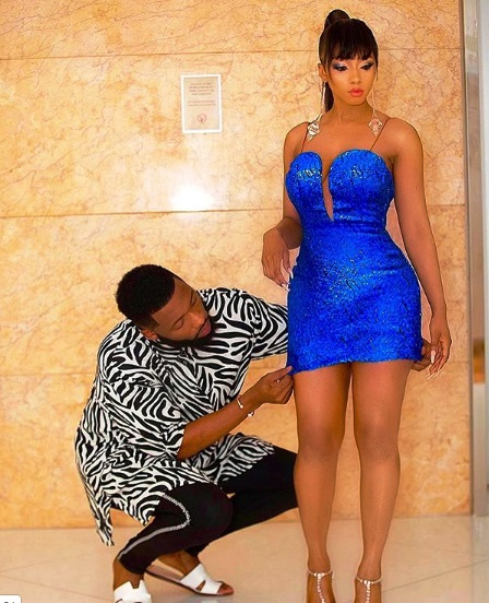 Queen of Highlights, Mercy Eke Steps Out In Style For Her Victory Party (Photos and Video)