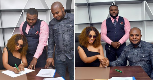 BBNaija's Mercy secures another endorsement deal (Photos)