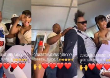 See what Cubanna Chief priest did to Mercy and Ike that has got everyone talking (Video)