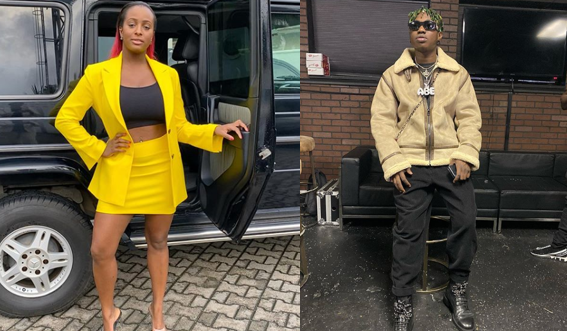Zlatan Ibile vows to kiss DJ cuppy on stage, Cuppy reacts in the most hilarious way