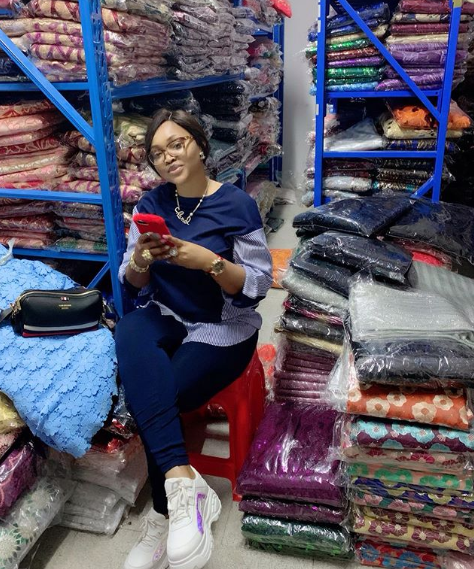 Chinese fabric seller calls out Mercy Aigbe for unpaid debt, leaks WhatsApp chat between them