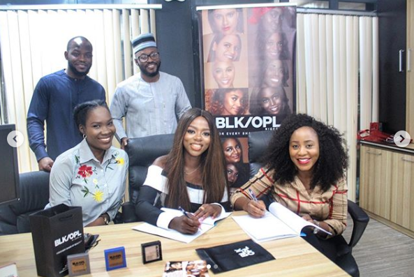 Diane signs first endorsement deal (Photos)