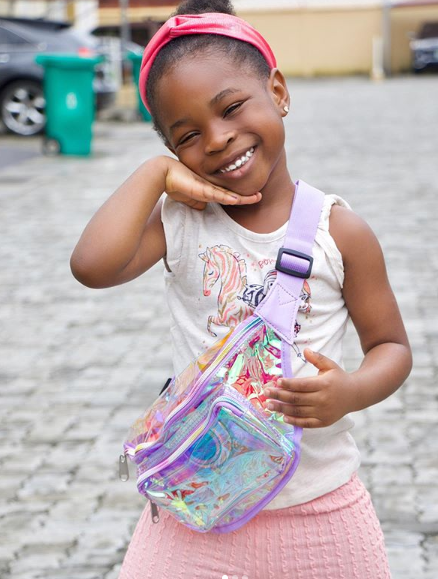 Davido's first daughter, Imade shares new lovely pictures on Instagram