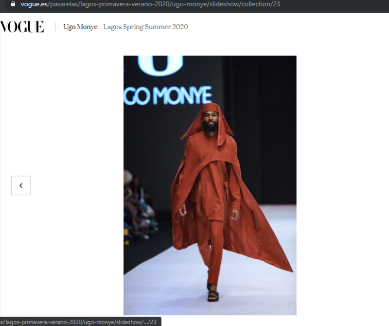 Mike and Ike feature on Vogue fashion website days after Lagos Fashion Week