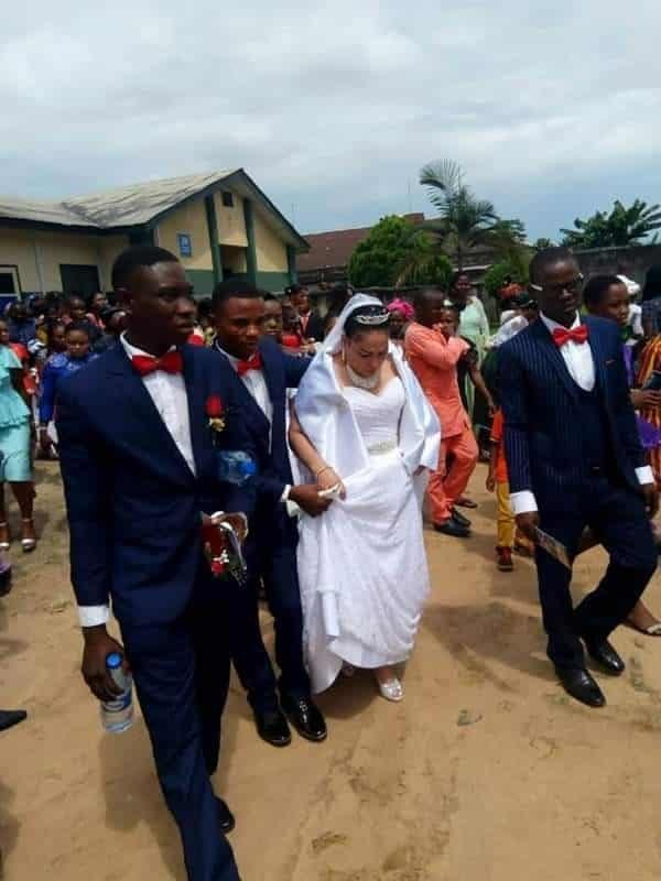 American Lady marries Nigerian Man In Akwa Ibom (photos)