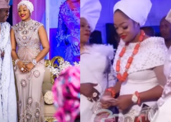 Good News! Ooni of Ife's wife,Queen Naomi Pregnant