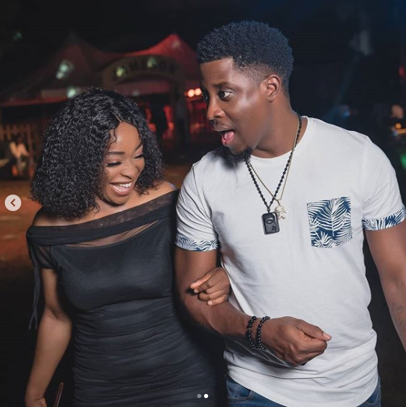 'You're my support system' - Seyi celebrates his girlfriend Dublin based girlfriend, Adeshola (Photos)