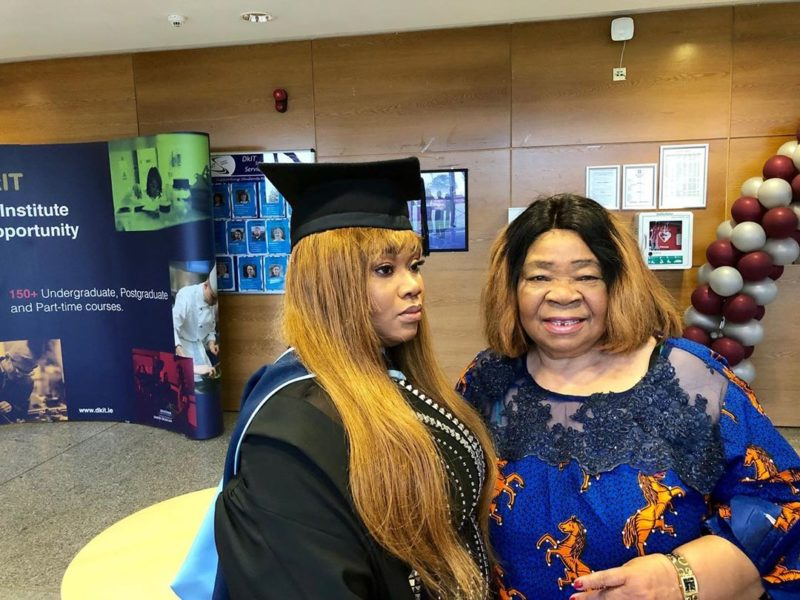 Don Jazzy's younger sister graduates with a first class (Photos)vDon Jazzy's younger sister graduates with a first class (Photos)