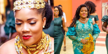 """I'm 35 years, a single mother, fat with stretch marks and God still found me worthy"" – Newly married Ghanaian woman shares her testimony and wedding photos"