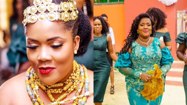 """""""I'm 35 years, a single mother, fat with stretch marks and God still found me worthy"""" – Newly married Ghanaian woman shares her testimony and wedding photos"""