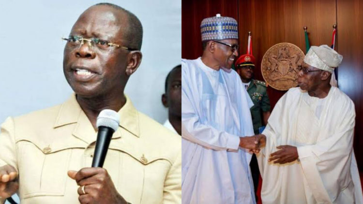Obasanjo traveled out of the country more than Buhari - Oshiomole