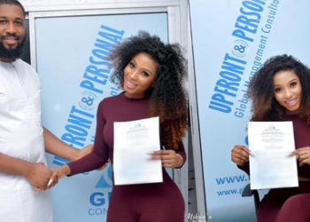 Mercy signs new deal as she gets set for homecoming party in Owerri tonight (Photos)