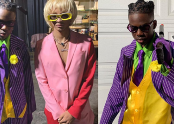 Nigerian singer Rema celebrates Halloween with Will Smith's son, Jaden Smith in US (Photos)