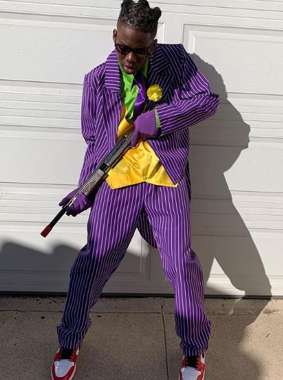 Nigerian singer Rema celebrates Halloween with Will Smith's son, Jaden Smith in US (Photos)