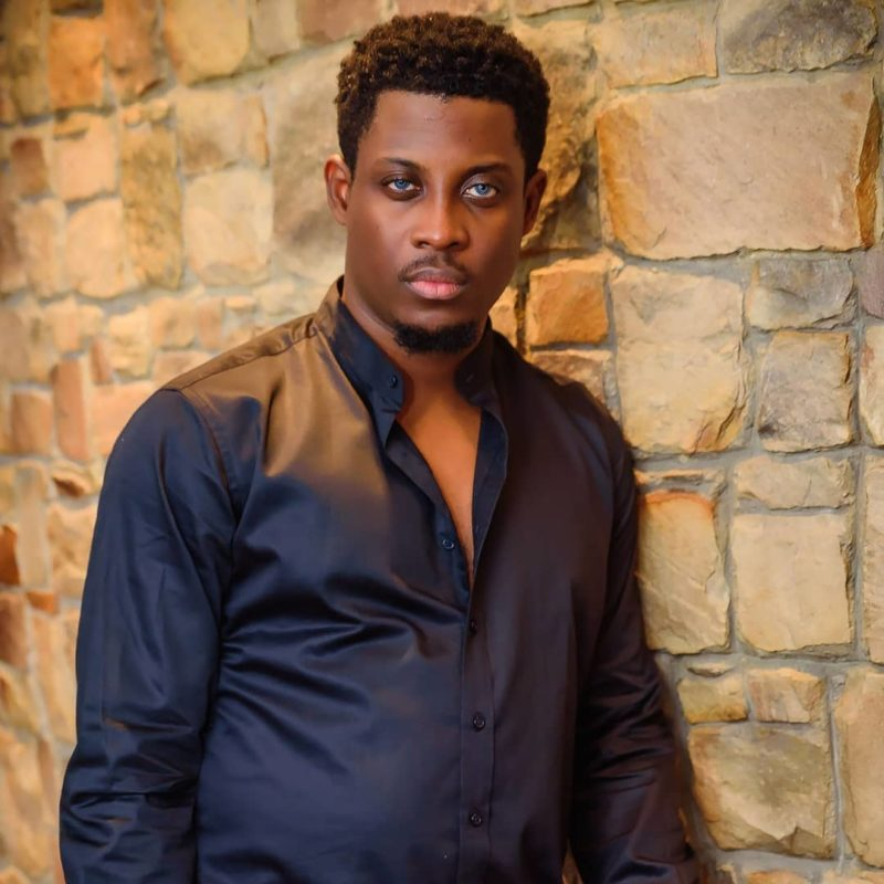 Seyi and his girlfriend, Adeshola step out in Halloween costume