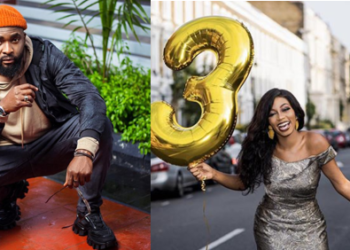 Gedoni pens down heartfelt message as he celebrates his girlfriend, Khafi's 30th birthday (Video)