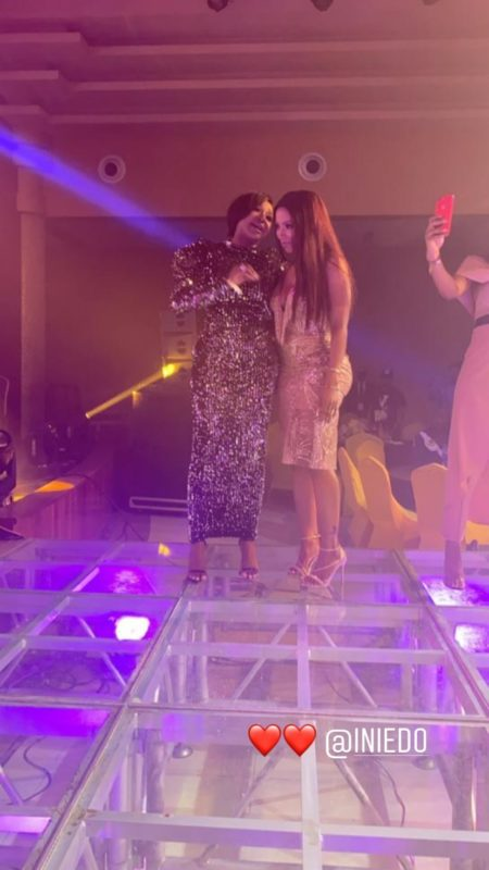 Mercy excited as she meets Actress, Ini Edo (Photos & Video)ft