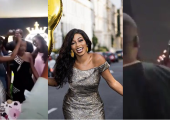 Mike sings for Khafi as all BBNaija Housemates celebrate her 30th birthday (video)