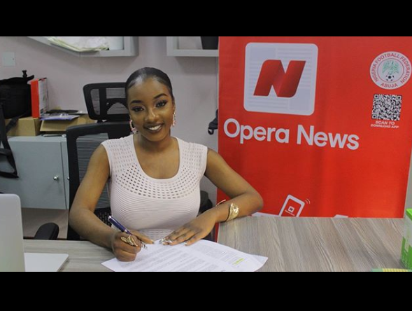 BBNaija's Avala signs endorsement deal with Opera News